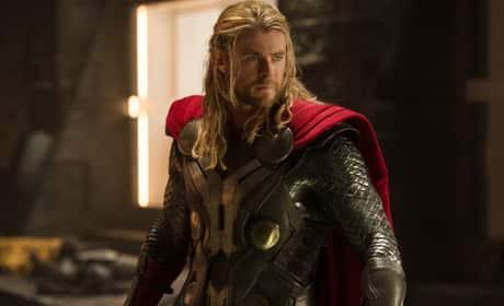 Chris Hemsworth in The Avengers