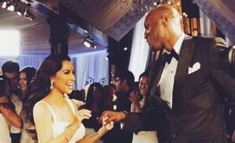 Kim Kardashian with Lamar Odom