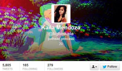 Kayla Mendoza Twitter Profile