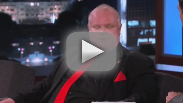 Rob Ford on Jimmy Kimmel Live (Part 4)