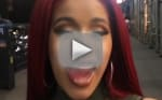 Cardi B Posts Wild PDA Video; Was She Getting Fingered By Offset?!