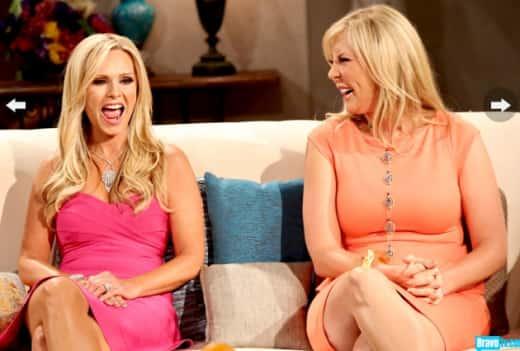 Tamra And Vicki Laughing