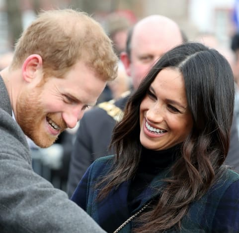 Prince Harry and Meghan Markle: All Smiles!