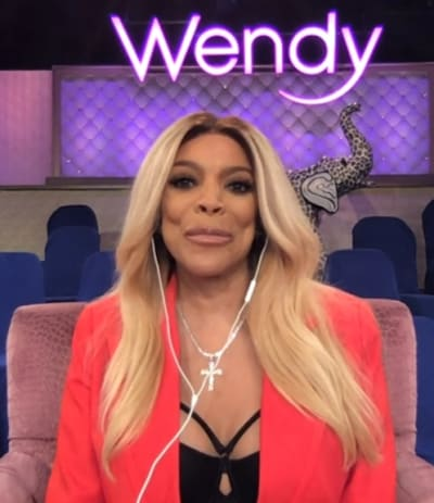 Wendy Williams in Front of the Camera