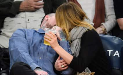 Cameron Diaz and Benji Madden: Caught on the Kiss Cam!