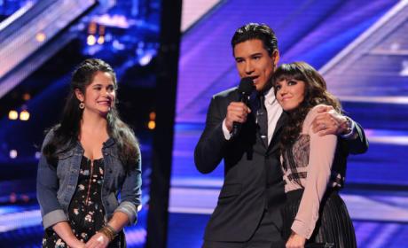 X Factor Elimination Pic