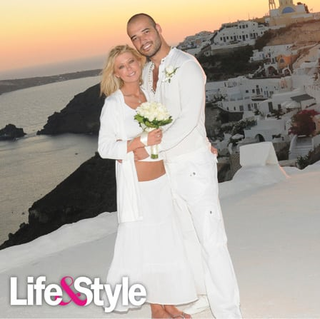 Tara Reid and Zack Kehayov Wedding Pic