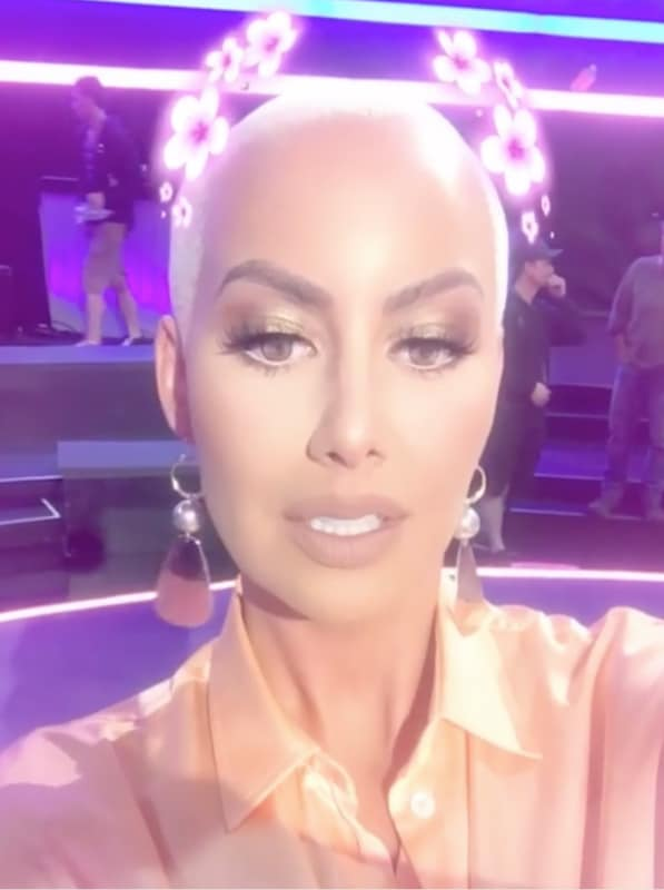 The amber rose stare