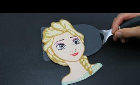 Father and Son Create INCREDIBLE Pancake Art