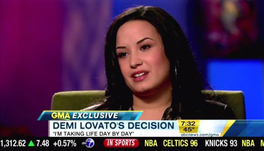 Demi Lovato Interview Photo