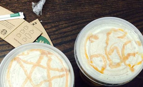 Starbucks Apologizes for Satanic Coffee Symbols