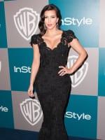 Kim Kardashian at the Golden Globes