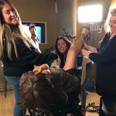Abby Lee Miller wheelchair shenanigans