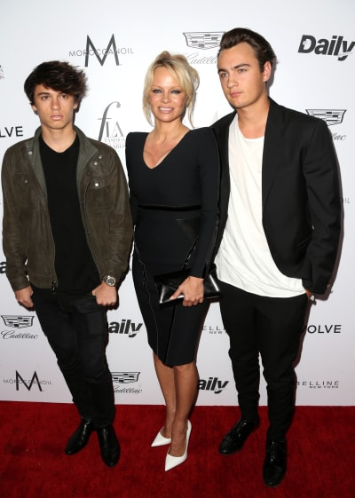 Dylan Jagger Lee, Pamela Anderson, Brandon Thomas Lee