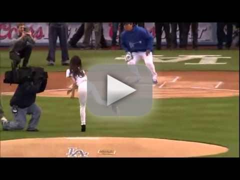 Tiffany Hwang First Pitch