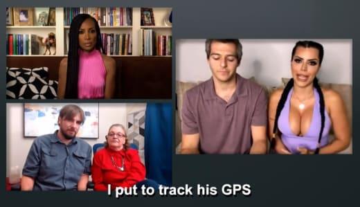 Larissa Lima - Puse a rastrear su GPS
