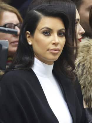 Kim Kardashian Stares