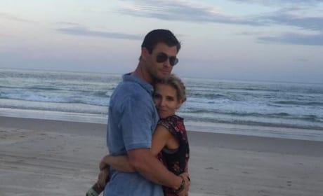 Chris Hemsworth and Elsa Pataky are ADORABLE