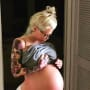 Jenna Jameson Baby Bump Pic