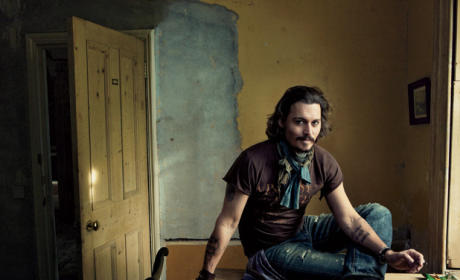Johnny Depp in Vanity Fair