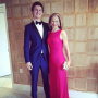 Ansel Elgort and Mom