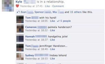 Facebook Relationship Status Update Gets Totally Out of Hand