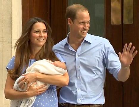 Kate Middleton, Baby Photo