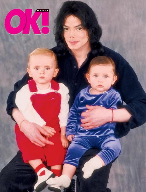 Michael, Paris and Prince Jackson