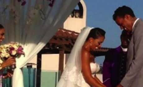 Matt Barnes-Gloria Govan Wedding
