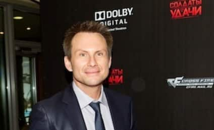 Christian Slater: Engaged to Non-Lesbian Brittany Lopez!