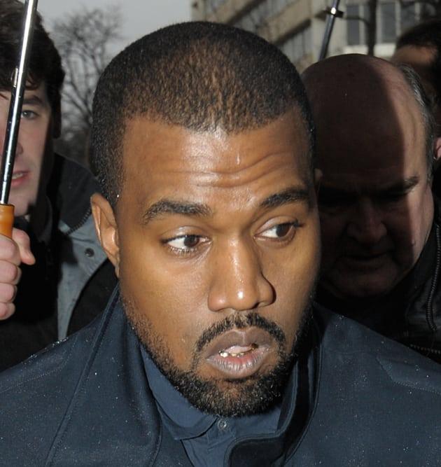 Close Up of Kanye