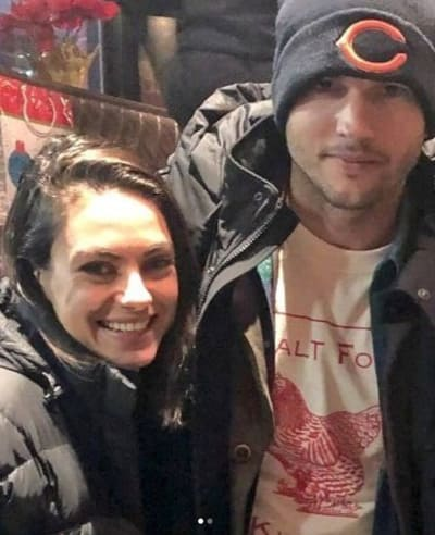 Mila Kunis and Ashton Kutcher: Spotted!