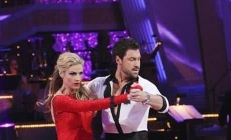 Erin and Maksim Dancing