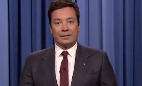 Jimmy Fallon on His Show