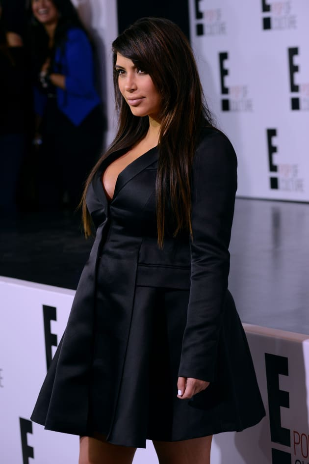 Kim Kardashian for E!