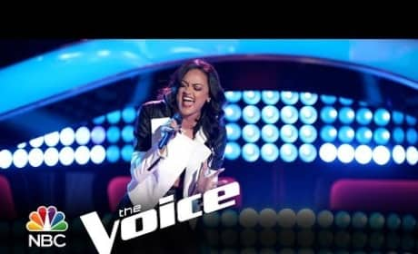 Brittnee Camelle - Skyscraper (The Voice Audition)