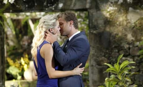 Nikki Ferrell and Juan Pablo