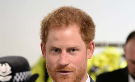 Prince Harry in a Suit