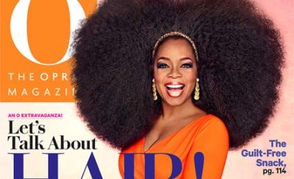 Oprah Winfrey, Giant Afro Wig Cover O Magazine