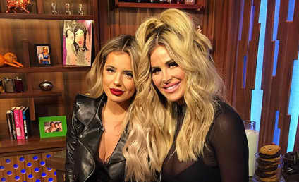 Kim Zolciak to Daughter: Shoot Up Those Lips!