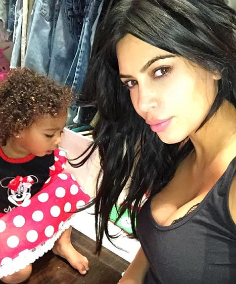 Kim and Daughter