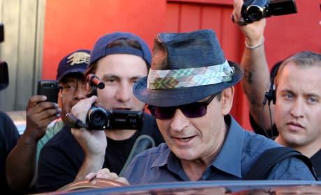 Sheen and Cameramen
