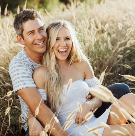 Arie Luyendyk Jr. and Lauren Burnham, Engagement Photo