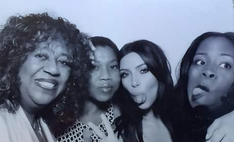 Kim Kardashian Bridal Shower Photo