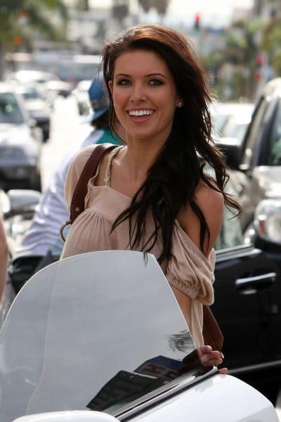 Smiling Audrina
