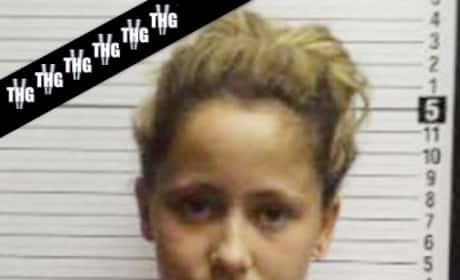 Jenelle Evans Mug Shot Reloaded
