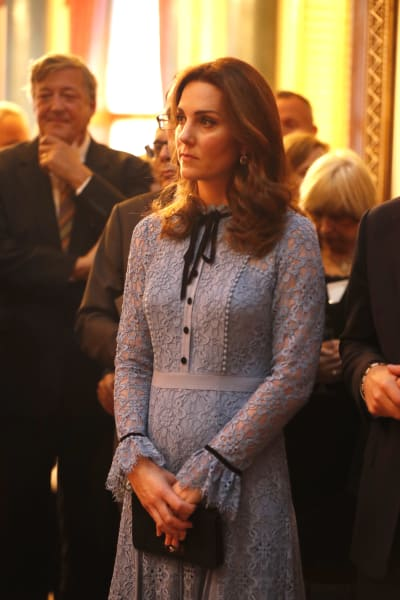 Kate Middleton Baby Bump Action!