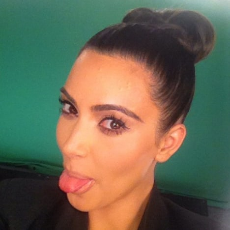 Kim Kardashian Twitter Picture