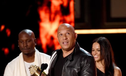 Vin Diesel Accepts Special Award, Pays Tribute to Paul Walker