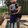 Stevie J, Joseline Hernandez and Baby